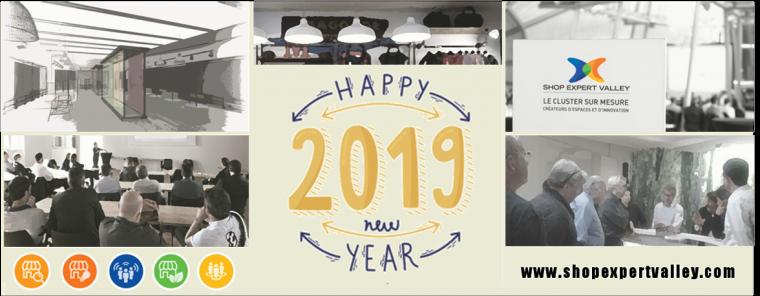 Shop Expert Valley vous souahite une bonne année 2019 !