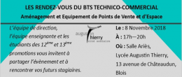 INVITATION BTS TECHNICO-CO AMENAGEMENT DE POINTS DE VENTE
