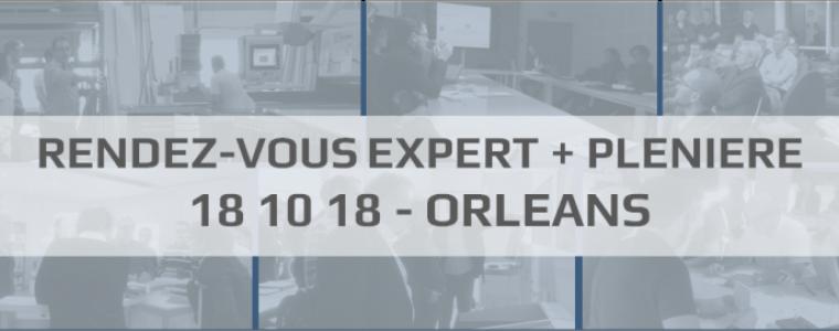 Rendez-Vous Expert et plénière Shop Expert Valley le 18 octobre 2018 à Orléans