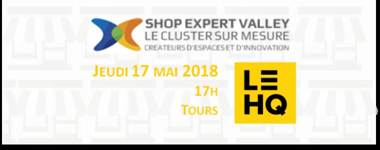 Plénière Shop Expert Valley 17 mai 2018 au HQ Tours