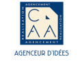 logo CAA agencement